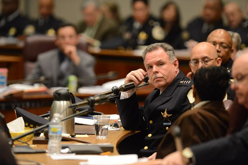 Chicago police superintendent Garry McCarthy at a City Council budget hearings two weeks ago - (BRIAN JACKSON/CHICAGO SUN-TIMES)