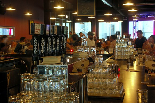 Lagunitas Brewing Company's taproom in North Lawndale - PHILIP MONTORO