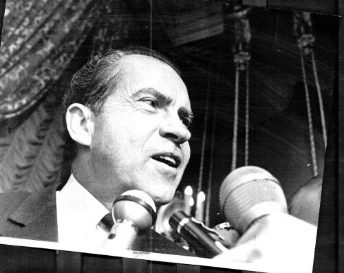 Conrad Black believed Richard Nixon when he said he wasn't a crook. - SUN-TIMES PRINT COLLECTION