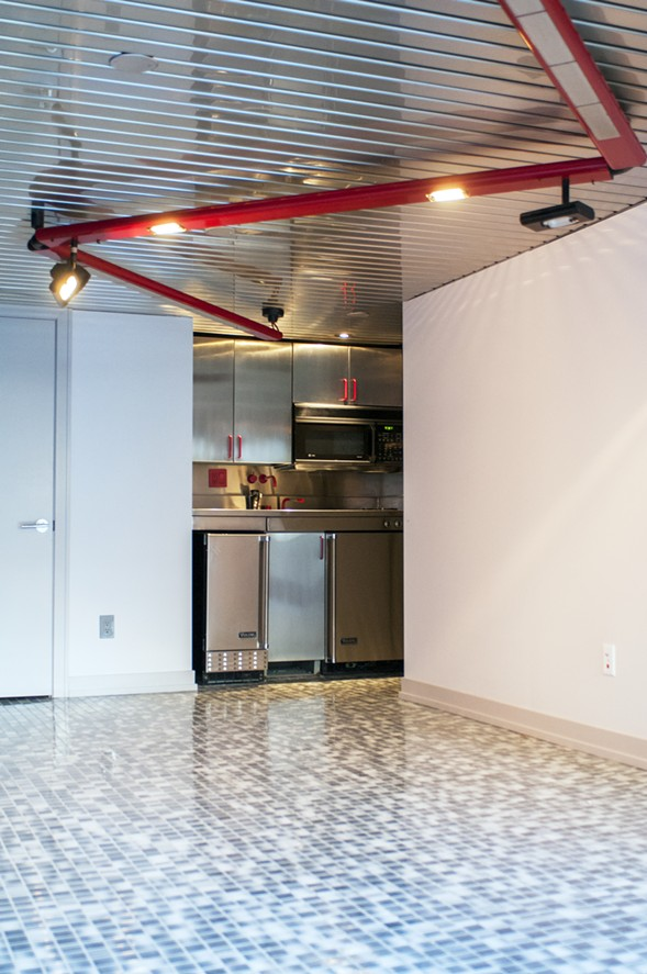Weese designed the ground floor to feel like the lower deck of a ship. - ANDREA BAUER