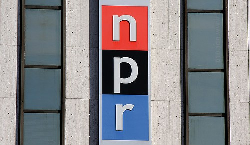You're looking a little gray, NPR. - MR.TINDC VIA FLICKR
