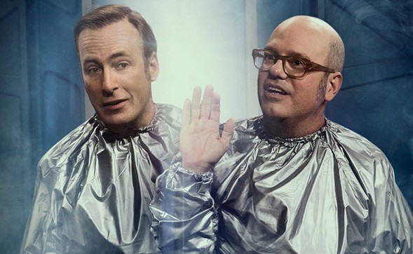 Odenkirk and Cross come in peace. - NETFLIX