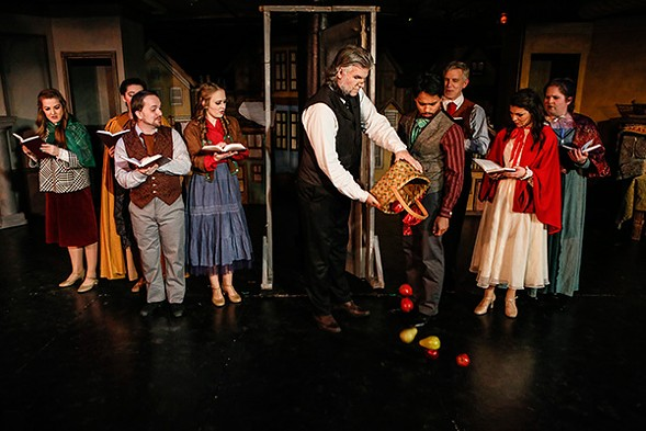 Quest Theatre's free A Christmas Carol: The Musical - BRAXTON BLACK