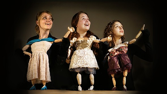 Rough House Puppet Theater's Sad Songs for Bad People - COURTESY ROUGH HOUSE THEATER