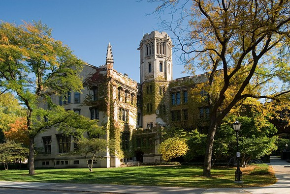 The University of Chicago campus is closed today after a warning from FBI counterterrorism officials. - CHUCK SZMURLO