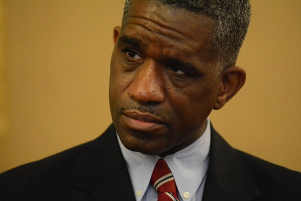 Alderman David Moore - BRIAN JACKSON/SUN-TIMES MEDIA