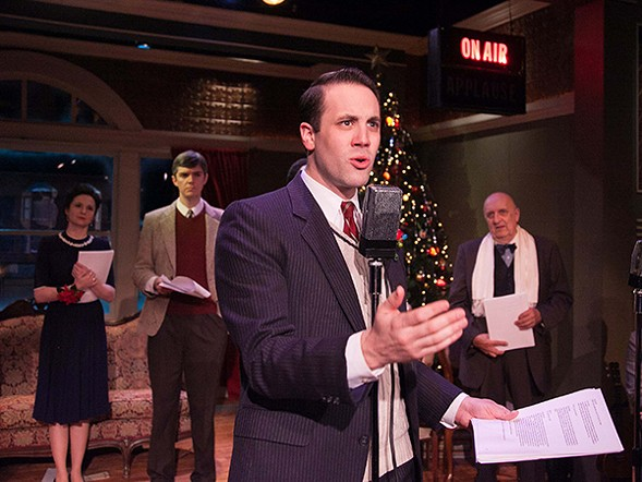 American Blues Theater's It's a Wonderful Life: Live in Chicago! - JOHNNY KNIGHT