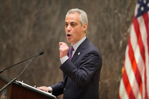 Speaking to the City Council Wednesday, Mayor Emanuel vowed swift reforms to restore public trust in police. - SCOTT OLSON/GETTY IMAGES