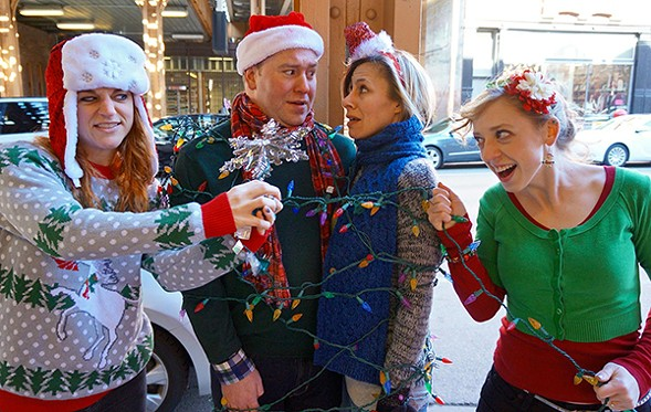 Waltzing Mechanics return with El Stories: Holiday Train. - COURTESY GREENHOUSE THEATER
