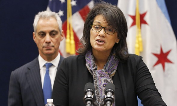 Sharon Fairley was Mayor Rahm Emanuel's pick to head the Independent Police Review Authority. - AP/CHARLES REX ARBOGAST
