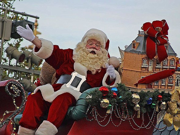 Santa Claus is coming to town with a whole new set of ideals. - JON SULLIVAN