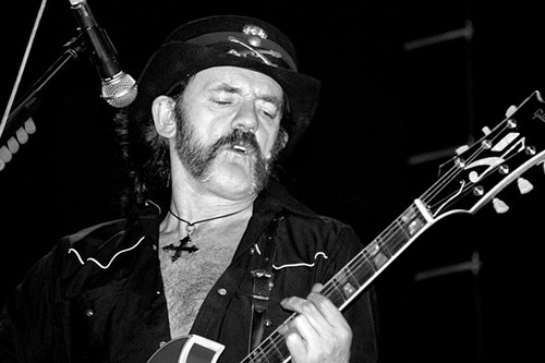 We'll miss you, Lemmy. - ALEJANDRO PÁEZ