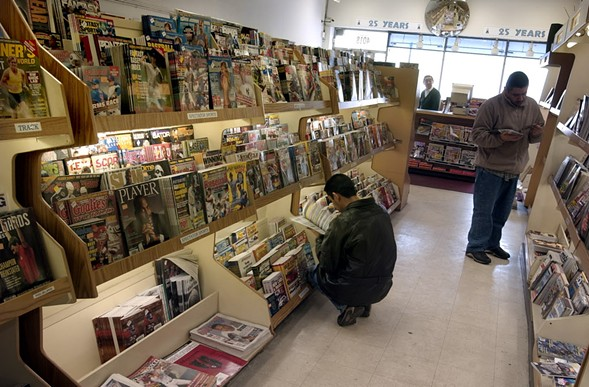 City Newsstand is known for stocking an array of niche publications. - RICHARD A. CHAPMAN/SUN-TIMES