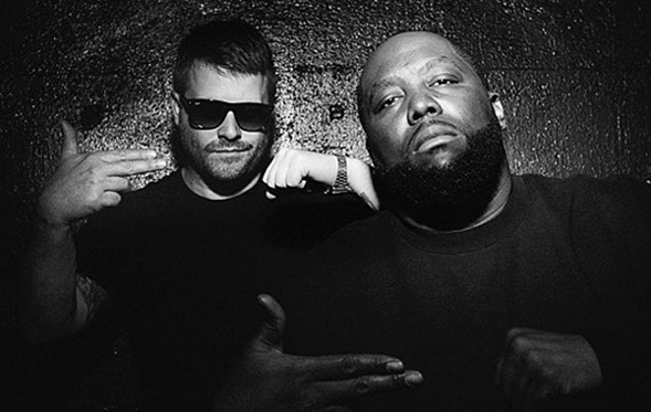 El-P and Killer Mike talk with Jessica Hopper at the MCA this weekend. - COURTESY THE ARTIST