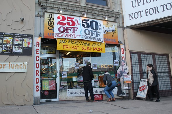 Uptown's Shake Rattle & Read will close its doors some time this spring. - MICAH UETRICHT