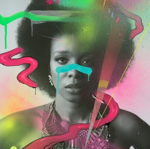 """The artwork for """"Blk Girl Soldier"""" - COURTESY THE ARTIST"""