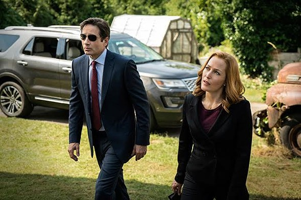 Mulder and Scully have witnessed far too much nutty space shit to remain incredulous. - FOX
