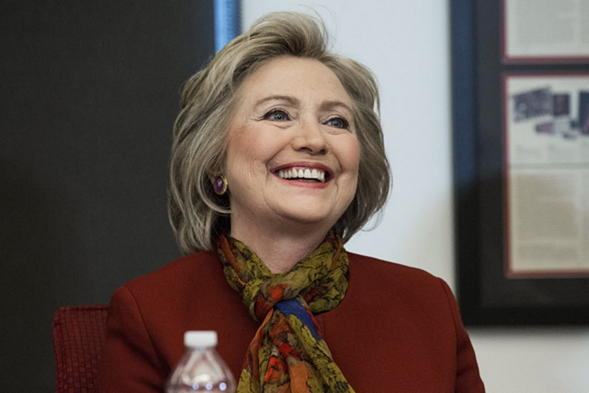 Democratic presidential candidate Hillary Clinton will be in Chicago Wednesday. - ANDREW BURTON/GETTY IMAGES
