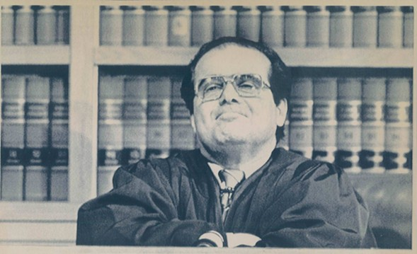 Scalia was a titan, a paragon of nefarious masterminding. Plus he seemed like he was having fun. He will be missed.