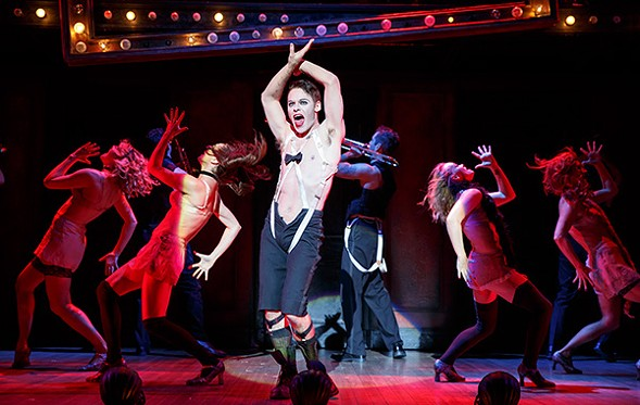 Randy Harrison as the Emcee in Roundabout Theatre's touring Cabaret - JOAN MARCUS