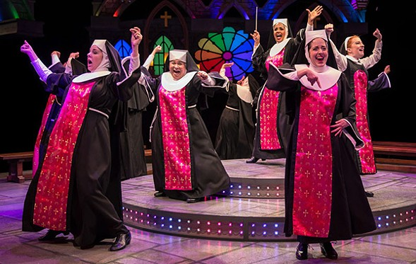 Sister Act - COURTESY THE MARRIOTT THEATRE