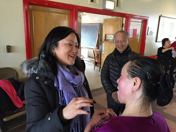 If she wins, Second District candidate Theresa Mah would be the first Asian-American elected to the Illinois General Assembly. - MARK BROWN/SUN-TIMES