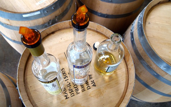 Koval spirits are featured at an Uncommon Ground dinner on Mon 3/21. - GREG WASS