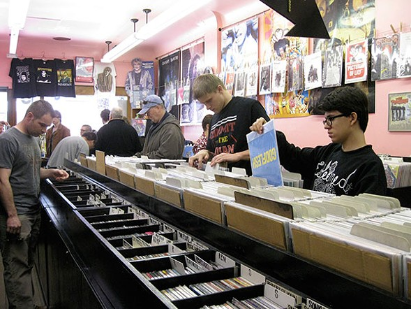 Record Store Day takes place all over the city on Sat 4/16. - MARK LAWTON/SUN-TIMES MEDIA