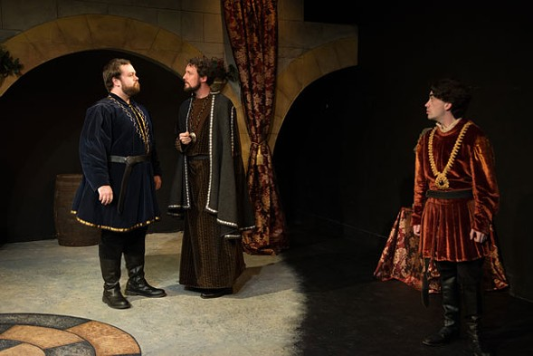 Promethean Ensemble's The Lion in Winter, at the Athenaeum - TCMCG PHOTOGRAPHY