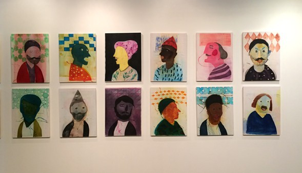 Orkideh Torabi's portraits are a standout in this year's SAIC MFA show. - COURTESY ORKIDEH TORABI