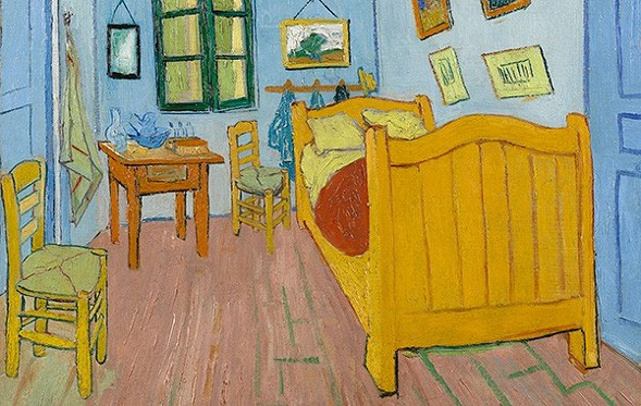 The bedroom paintings are worth it, says Dmitry Samarov, but you only have until Tue 5/10 to see them. - COURTESY VAN GOGH MUSEUM, AMSTERDAM