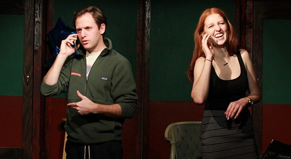 Double Text at Public House Theatre - OLIVIA BAGAN
