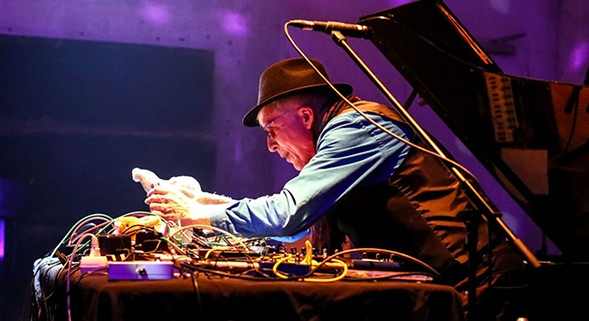 Rhys Chatham plays his first Chicago show in six years on Fri 5/20. - ROLAND OWSNITZKI