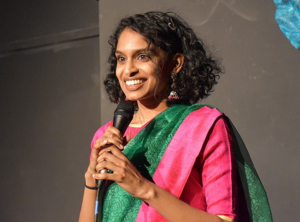 Rishika Murthy and the rest of Simmer Brown celebrate a year of their stand-up showcase on Sat 5/28. - JOSHUA MACWAN/RELAX PHOTOGRAPHY