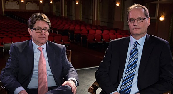 Dean Strang and Jerry Buting talk Making a Murderer on Fri 6/3. - DANIEL ANDERA