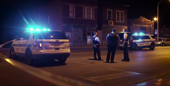 A still from the New York Times's coverage of weekend violence in Chicago. - CRAIG DUFF, TODD HEISLER AND BRENT MCDONALD/NEW YORK TIMES