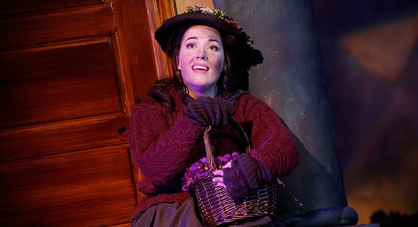 Light Opera Works' My Fair Lady, at Cahn Auditorium - JOSHUA LOTT