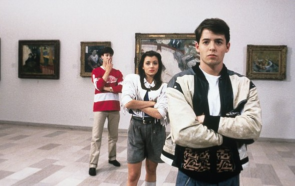 Ferris Bueller's Day Off screens in Lincoln Park on Wednesday June 15. - SUN-TIMES MEDIA