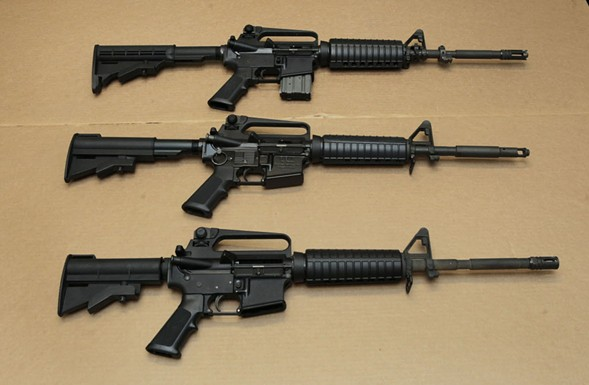 Omar Mateen used an AR-15 that he purchased legally when he killed 49 people in an Orlando nightclub over the weekend. - AP PHOTO/RICH PEDRONCELLI, FILE
