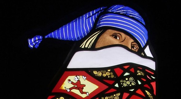 """Contemporary artists display their stained glass work at """"American Glass Now."""" - MARY CLERKIN HIGGINS"""