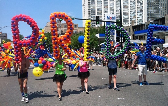 Participants of 2013's Parade show their pride. The 47th Annual Chicago Pride Parade is this Sunday. - CHANDLER WEST
