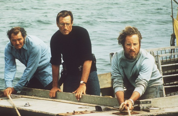 Thalia Hall's gonna need a bigger boat for its double feature of Jurassic Park and Jaws on Fri 7/1.