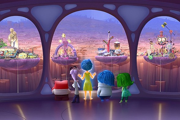 Inside Out screens at Northwestern University Norris University Center's East Lawn on Wed 7/6.