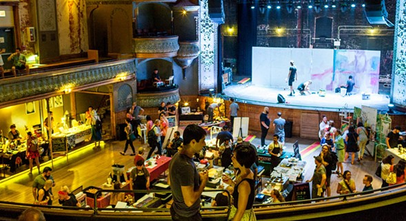 Thalia Hall hosts the Summer Night Market on Wed 7/20. - NICK MURWAY