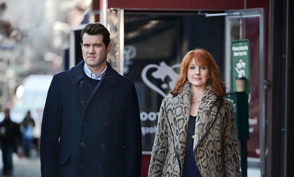 Billy Eichner and Julie Klausner are Difficult People. - HULU