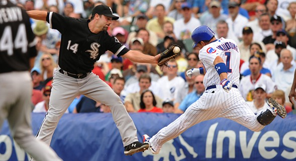 It's the Sox vs. the Cubs at the annual Crosstown Classic. - SUN-TIMES MEDIA