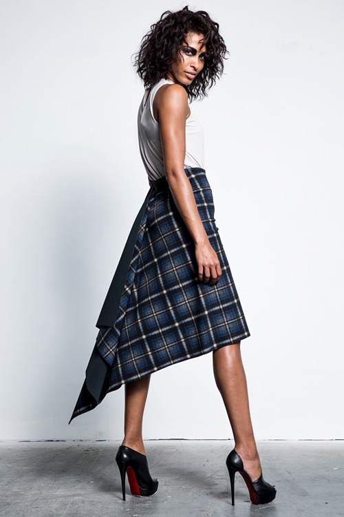 This Glenda skirt was made with one single piece of fabric. - PHOTO COURTESY OF M2057 BY MARIA PINTO