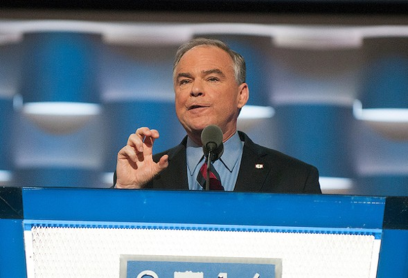 Sen. Tim Kaine, Hillary Clinton's vice-presidential nominee