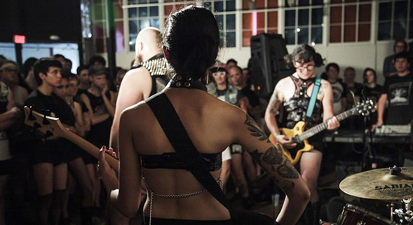 Fed Up Fest showcases queer and trans artists from across the country. - GLITTER GUTS PHOTOGRAPHY