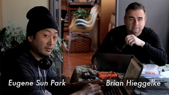 Director Eugene Sun Park and producer Brian Hieggelke - COURTESY FULL SPECTRUM FEATURES